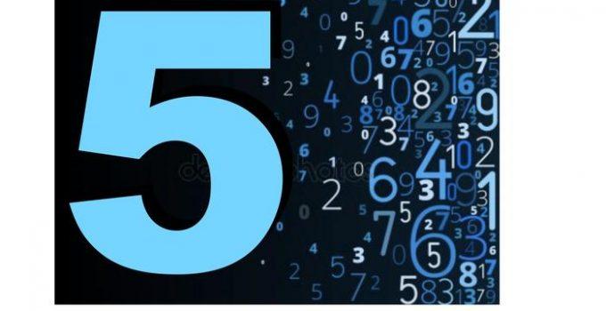 numero-cinco-compatibilidad-numerica