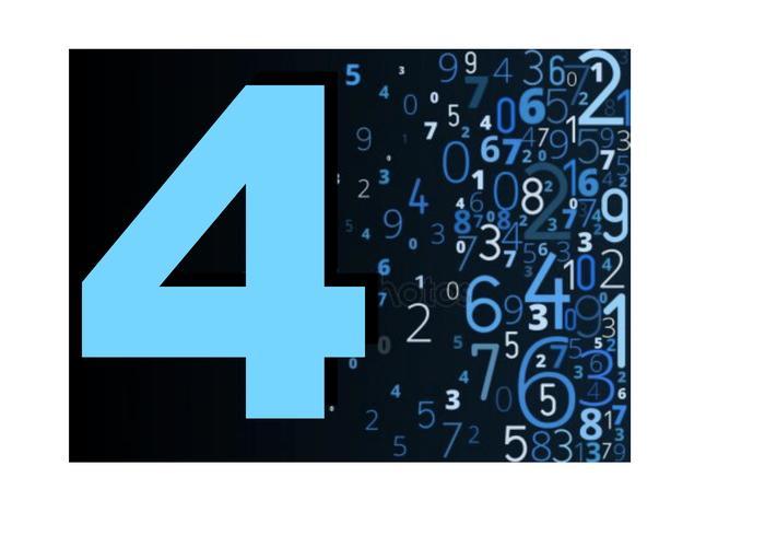 numero-cuatro-compatibilidad-numerica