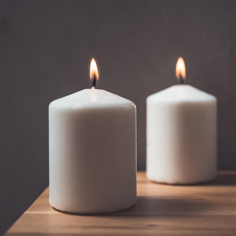 oracion para encender una vela blanca